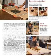 Building A Router Table by Build Router Table U2022 Woodarchivist