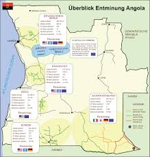 Angola Map Demining Results Of People Against Landmines Mgm
