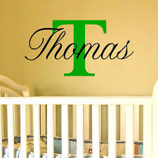 Letter Wall Decals For Nursery Letter Wall Decals For Nursery Baby Name Wall Stickers Name