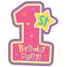 1st birthday 1st birthday invitations girl big w