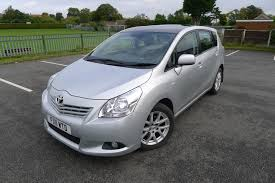 toyota avensis verso used toyota verso cars for sale in lincoln lincolnshire motors