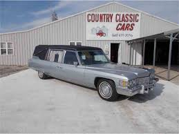 hearse for sale 1974 cadillac hearse for sale classiccars cc 938948