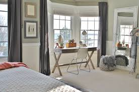 Rustic Chic Bedroom - rustic chic mini master reveal my desk