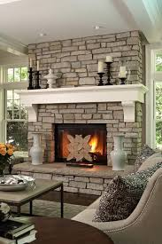 How To Decorate A Traditional Home How To Decorate A Stone Fireplace 6572