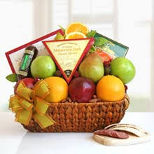 healthy gift baskets by the gift basket pros