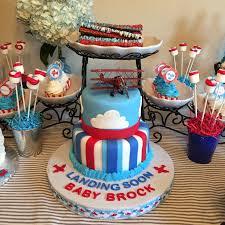 airplane baby shower cake airplane baby shower theme my cakes