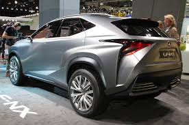 lexus nx 300 youtube lexus lf nx crossover concept is one mean looking hybrid