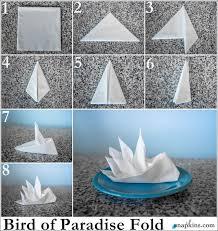 how to make table napkins 18 best paper napkin folding images on pinterest paper napkin