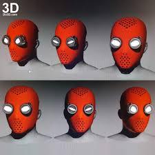 3d printable model spider man homecoming homemade eye goggle