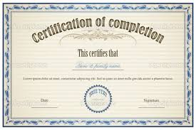 certificate of completion template free download 49 free printable