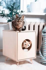 pets cat litter cabinet cat tree litter box cat litter furniture
