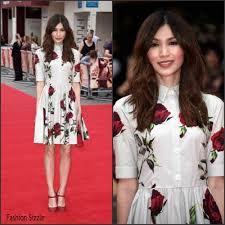 Bad Education Gemma Chan In Dolce U0026 Gabbana At U0027the Bad Education Movie U0027 London