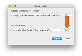 Flags Importer Com Import Synergy Files Hudl Support