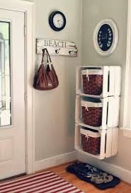 The Summer And Winter Garden - 10 inspiring and inventive mudroom ideas crates gloves and winter