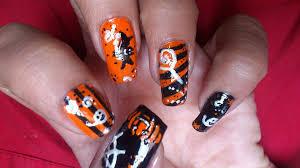 halloween nail art design nail art gallery