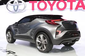 toyota new c hr subcompact toyota c hr crossover to be built in europe