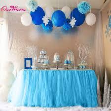 tutu baby shower decorations customized tulle tutu table skirt for tutu baby shower decorations