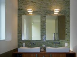 mirror tiles for bathroom walls how were mirrors mounted on tile wall is there tile behind the mirrors