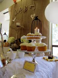 earthy baby shower baby showers vintage and simple cupcakes