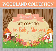 woodland baby shower woodland party forest friends woodland