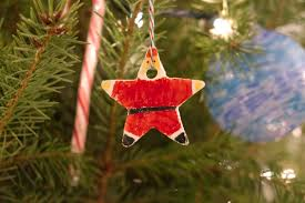santa salt dough ornament bash co
