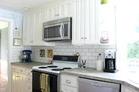 pictures of subway tile backsplashes in kitchen one backsplash for kitchen in articles w 6061