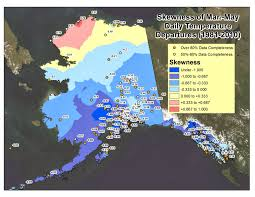 Kotzebue Alaska Map by Deep Cold Interior And Northern Alaska Weather U0026 Climate March 2014