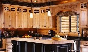 Log Cabin Kitchen Ideas Log Cabin Kitchen Cabinets Kitchen Windigoturbines Rustic Log