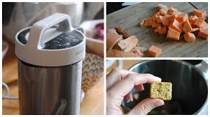 recette de cuisine avec blender recette soupe épicée avec le blender chauffant soupmaker de
