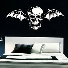 large avenge sevenfold death bat bedroom wall mural giant transfer large avenge sevenfold death bat bedroom wall mural giant transfer vinyl decal in wall stickers from home garden on aliexpress com alibaba group
