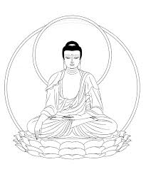line art budda buddha line art drawing buddhist kootation com