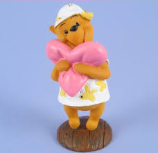 winnie the pooh cake topper winnie pooh pink cushion cake topper winnie the pooh cake decoration
