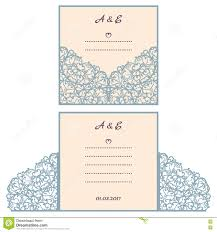 Wedding Invitation E Cards Wedding Invitation Or Greeting Card With Abstract Ornament Vector