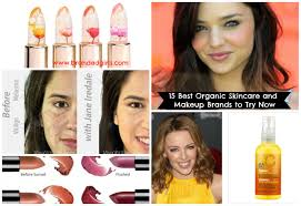 healthy cosmetic brands top 15 healthy and organic makeup brands