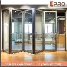 Aluminium Patio Doors Prices by Aluminium Bi Folding Door With Exterior Door Aluminium Bi Folding