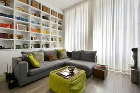 London Flat Interior Design Small London Apartment With An Interior Window That Makes A Huge