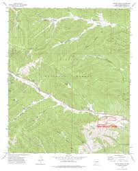 Ruidoso New Mexico Map by Maps Nm Skies