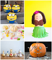 No Carve Pumpkin Decorating Ideas Hello Wonderful 25 Utterly Adorable No Carve Pumpkin Decorating