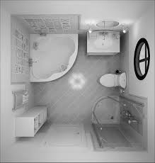 How To Design A Bathroom Floor Plan Nice Small Bathroom Layout For Private Living Space Amazing Grey
