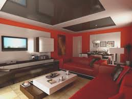 living room simple red paint living room ideas home design