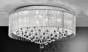 Fancy Ceiling Lights Decoration Hanging Chandelier Lounge Ceiling Lights Grey