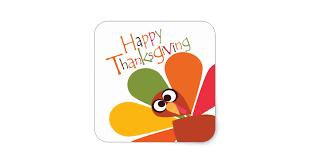 happy thanksgiving turkey stickers zazzle