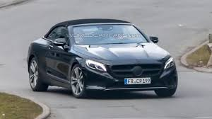 mercedes benz s class cabriolet spied with minimal camouflage