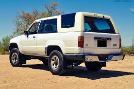 toyota sport utility vehicles 1986 toyota 4runner sr5 review rnr automotive blog
