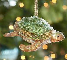 pottery barn glass sea ornaments ebay