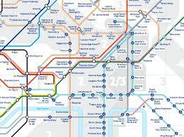underground map zones map of underground stations major tourist
