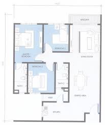 Saujana Residency Floor Plan Bsp Skypark Serviced Residence Bandar Saujana Putra Floor Plan