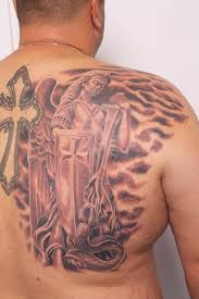 biagio s gallery tattoos back chest guardian