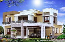 modern square home design plan sq ft sq square square feet