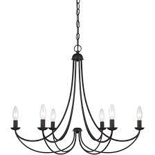 quoizel mrn5006ib chandelier imperial bronze 6lt